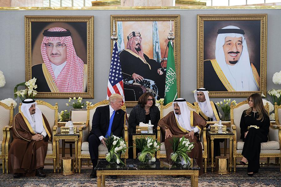 特朗普出訪 對待沙特姿態與奧巴馬不同