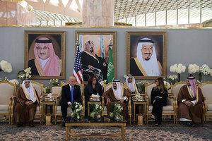 特朗普造訪首日 美沙簽3800億美元投資協議
