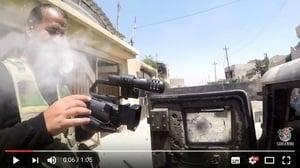 伊拉克記者命大 胸前攝影機擋IS狙擊手子彈