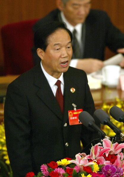 前公安部部長賈春旺資料圖片。(網絡圖片)