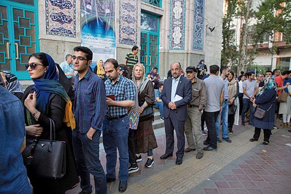 伊朗總統大選超過4,000萬選民參與投票。(Getty Images)
