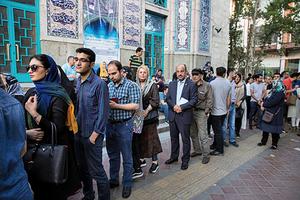 伊朗總統大選 魯哈尼贏得連任