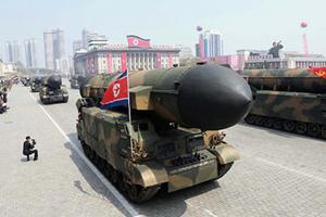 北韓再射導彈飛500公里墜落