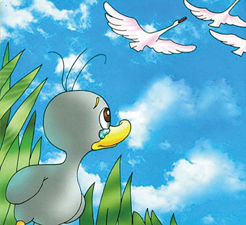 安徒生童話《醜小鴨》(網絡圖片)