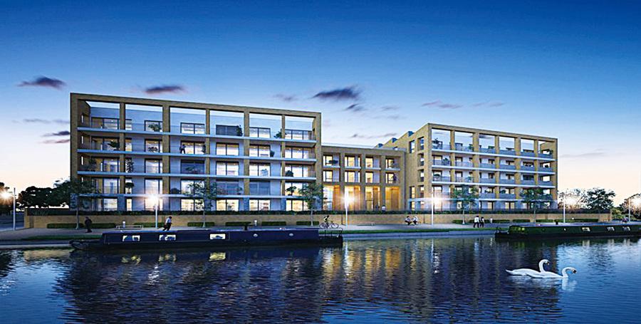 西倫敦的秘密寶藏  美麗河畔新家園 Brentford Lock West