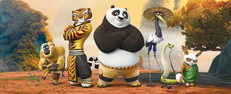 《功夫熊貓3》上映一個月,已成大陸動畫電影的票房冠軍,不少民眾反思為何中國傳統文化反由外國人演繹。(網絡圖片)