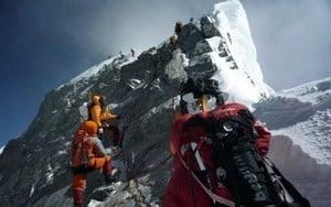 珠穆朗瑪峰「希拉里台階」坍塌 登頂危險增