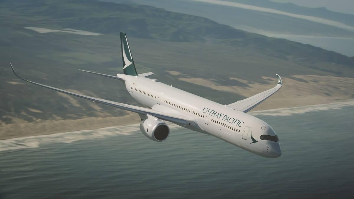 國泰航空今22日宣布,在本港裁減合共約600名總部後勤員工,當中包括約190名中、高級管理層,以及約400名非管理人員職位,裁員行動會在1個月內完成。(國泰航空Facebook專頁/facebook.com/cathaypacificHK)