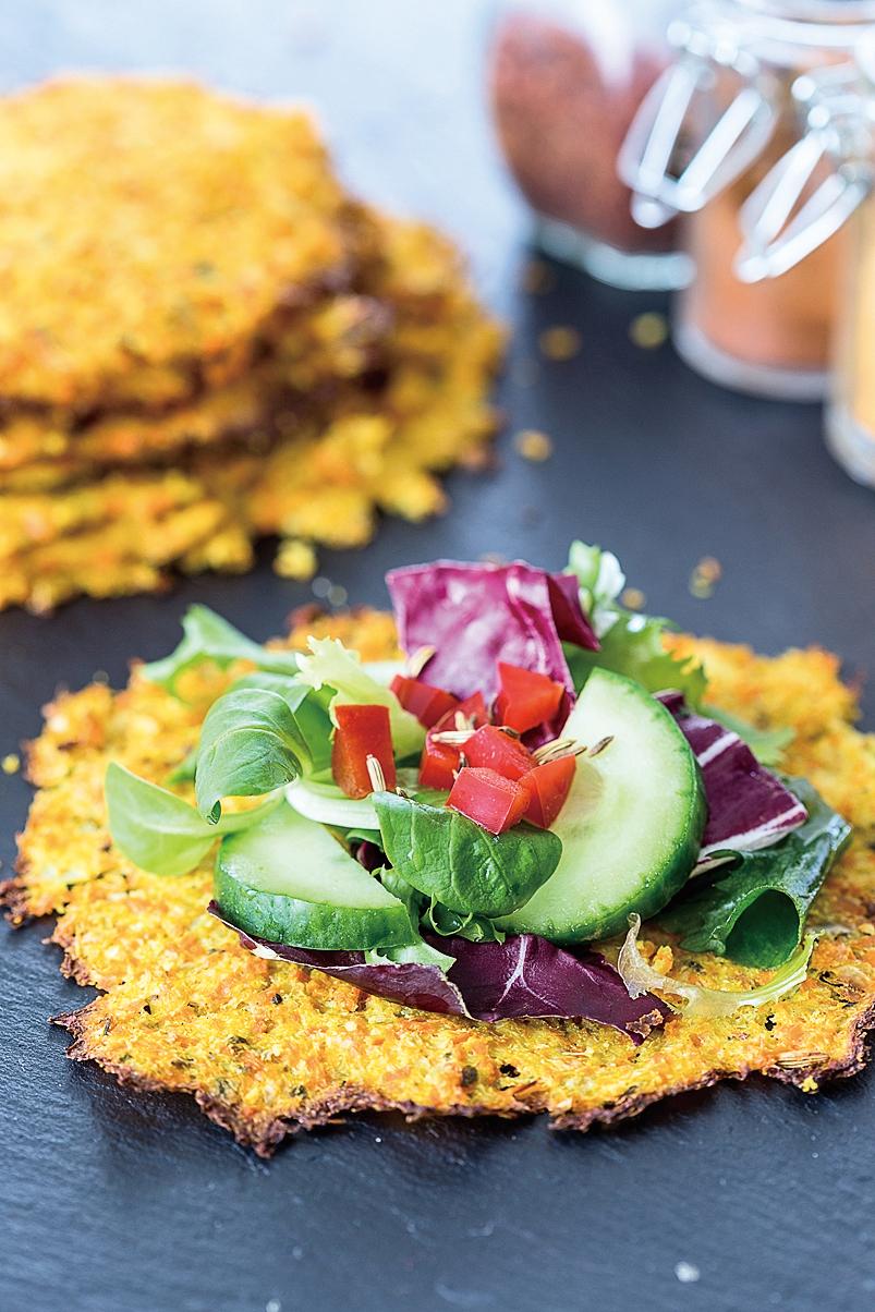印度料理中的素餐,多半運用各種香料調味。