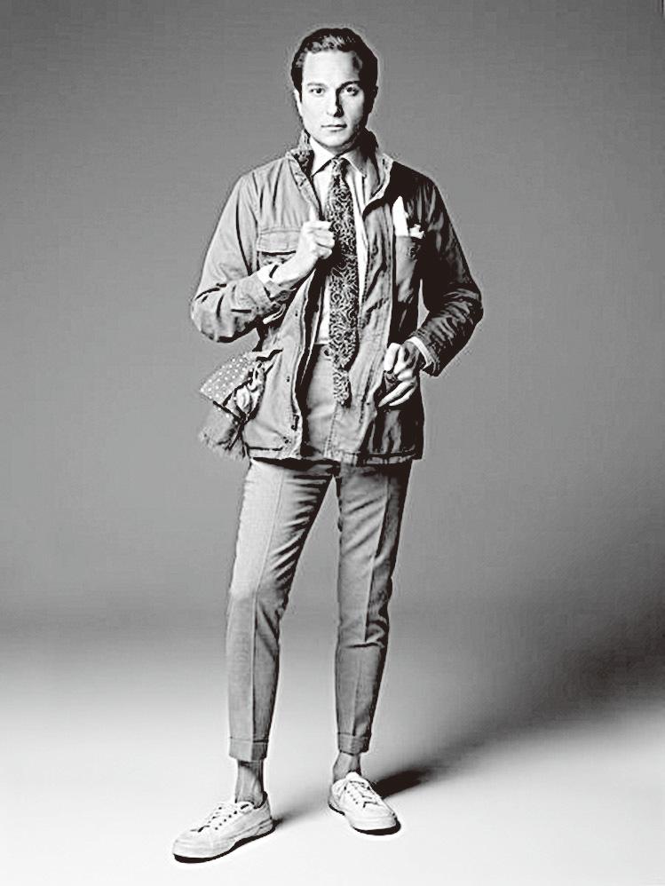 對我來說,Emmett恤衫的質量極為優質,但從來沒有其它類似品牌的那樣高調和誇張。  ——企業執行長Damian Kimmelman