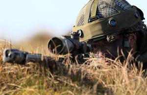 子彈三秒飛2.4公里 英狙擊手一槍擊斃IS份子