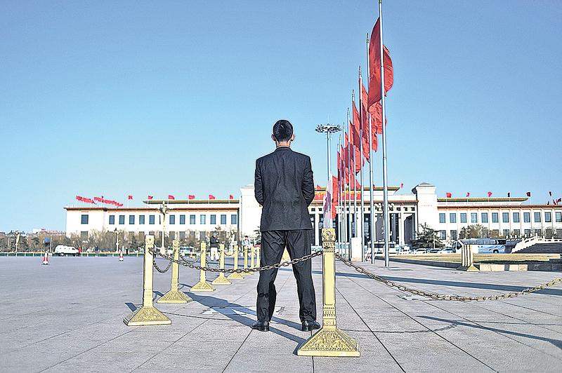 中共召開兩會,高層展開暗戰。(Getty Images)
