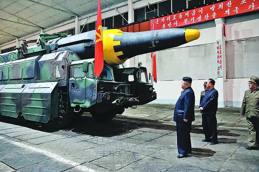 金正恩射彈攪局 習近平圍剿上海幫