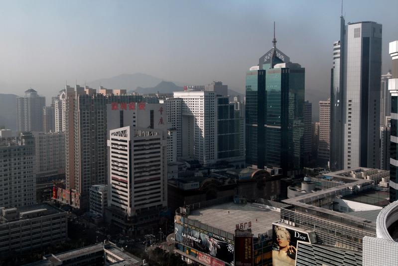 深圳從5月22日開始收緊進一步收緊房貸,建行深圳分行取消首套房房貸利率優惠。(PHILIPPE LOPEZ/AFP)