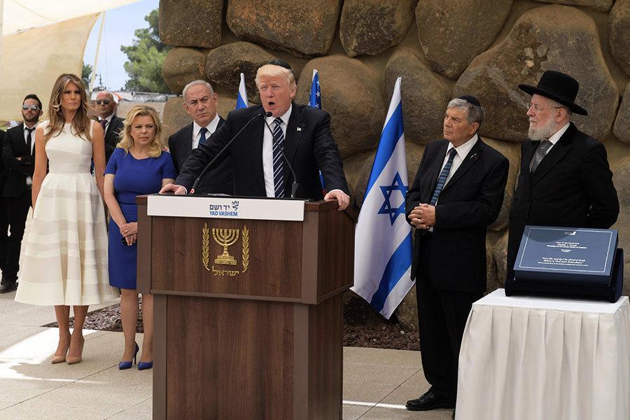 以巴領袖承諾 與特朗普合作促成和平協議
