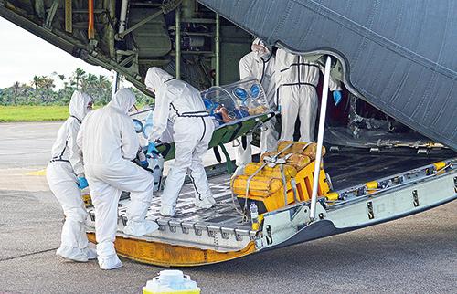 陳馮富珍被批評延誤伊波拉疫情,導致疫情迅速惡化,上萬人死亡。(Getty Images)