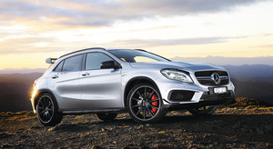 新一代Mercedes-AMG  GLA 45 4MATIC動感來襲