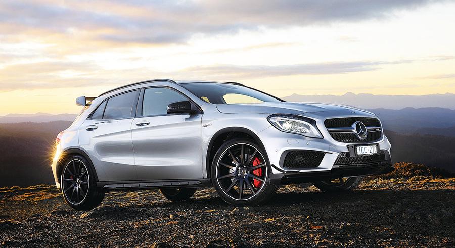 新一代Mercedes-AMG  GLA 45 4MATIC動感來襲
