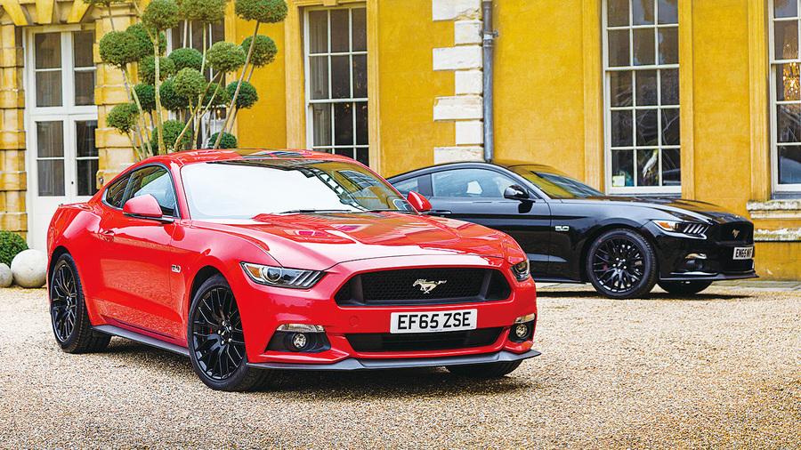 Ford Mustang Facebook上獲得最多讚的車款