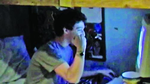 十五年前 朱克伯格被哈佛錄取表情
