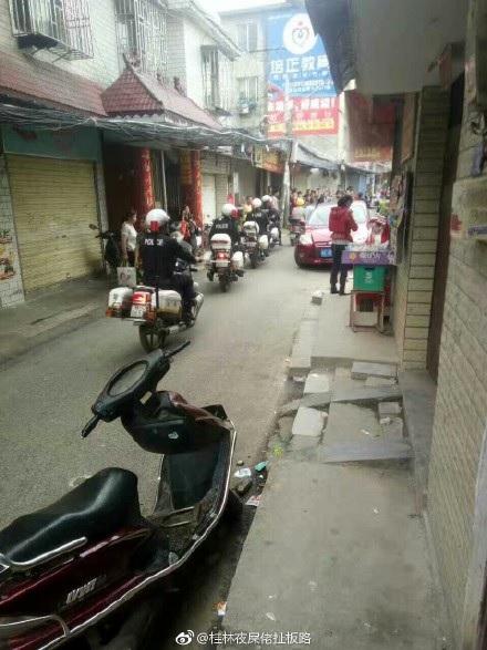 5月24日中午,廣西桂林市秀峰區甲山街道辦事處東蓮村委五里圩發生一名男子砍殺午托班學生慘案,3死2傷。(網絡圖片)