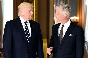 特朗普與比利時國王及首相會面 重點談反恐