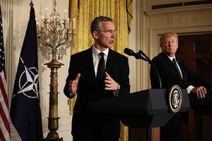 特朗普預算增加國防開支 北約秘書長歡迎