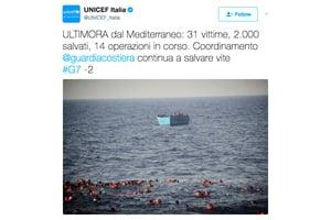 利比亞外海34人落海溺斃 包括至少10童