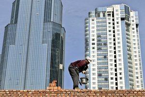 中國家庭房產淨值增加 財富面臨風險