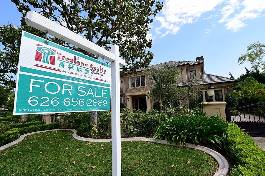 路透社5月26日發佈的民調顯示,美國房價在未來幾年有望強勁上升,主要是因為房屋長期短缺和需求穩定。(FREDERIC J. BROWN/AFP/Getty Images)