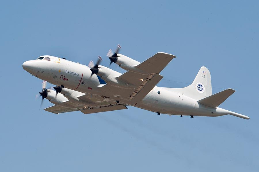 圖為美國海軍一架P-3獵戶座(P-3 Orion)偵察機。(Lockheed Martin)