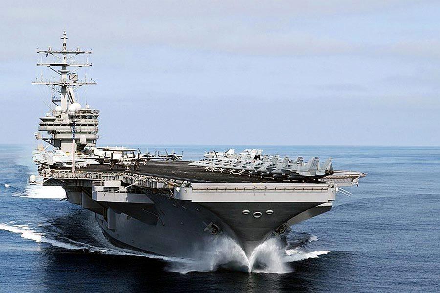 罕見!美三個航母戰鬥群將集結朝鮮半島