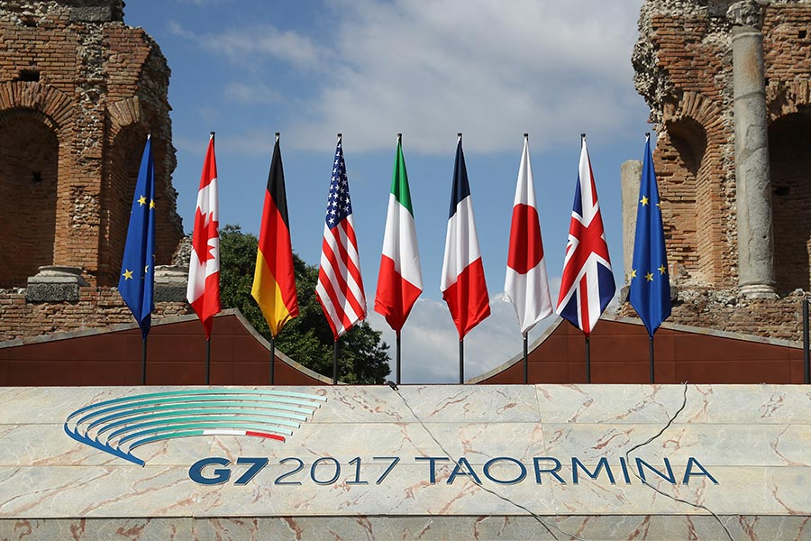 與會者最終在打擊恐怖份子的問題上達成共識。不久前曼徹斯特發生嚴重恐怖襲擊,G7成員國一致決定舉行內政部長會議。(Sean Gallup/Getty Images)