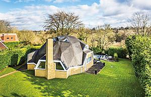 英肯特郡與眾不同的圓頂房正在出售