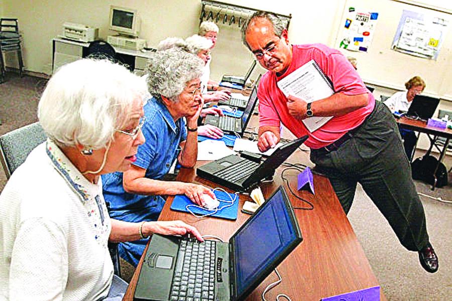 美老年人對新科技感覺良好