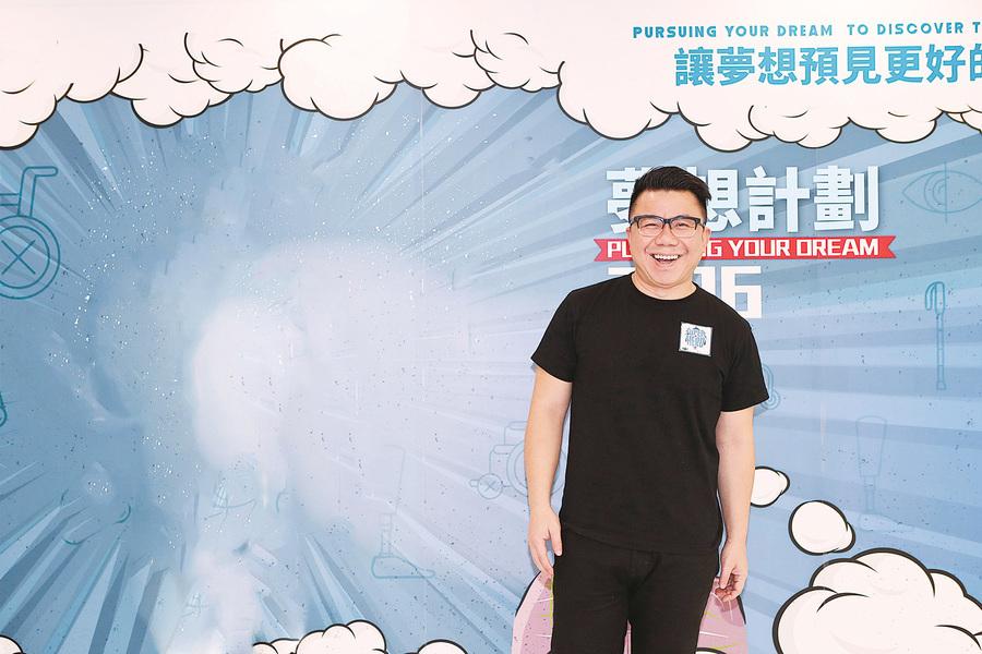 陳奐仁分享夢想   想像陳奕迅般做大型巡演