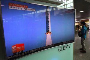 北韓試射多枚疑似地對艦導彈