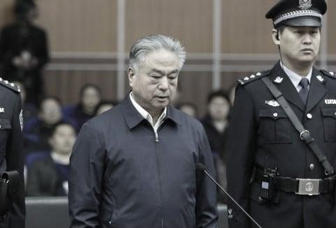 5月27日,中共前天津市公安局局長武長順被判處死緩。(視像擷圖)