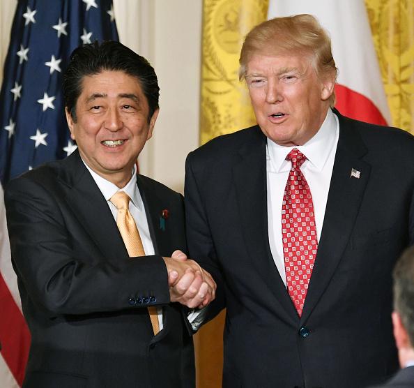 日本首相安倍晉三周一誓言,要與其它國家一起對朝施壓,遏制平壤的一再挑釁。(Getty Images)