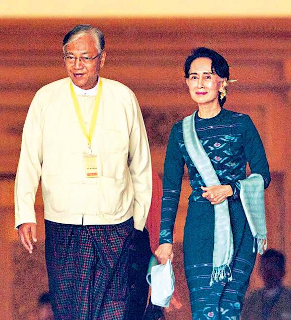 廷覺寫歷史  成緬甸首位文人總統
