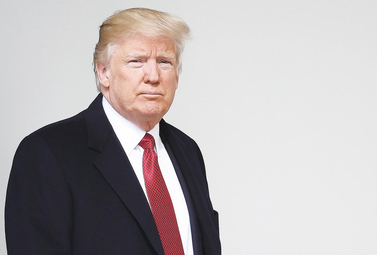 美國特朗普政府在執政100天之際,推出「史無前例」的稅改方案,要將企業所得稅率從35%左右降至15%上下。(Win McNamee/Getty Images)