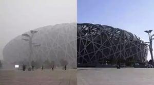 霧霾再襲京津冀 毒霾面積相當於425個香港