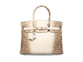 世界最貴手袋!Hermès拍出294萬港元高價