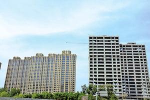 京滬樓市量價跌風險未去