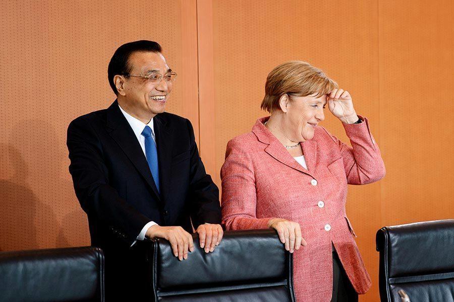 李克強訪德 國際組織:默克爾該公開談人權