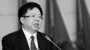遼寧前高官王陽受賄又賄選 獲刑十六年半