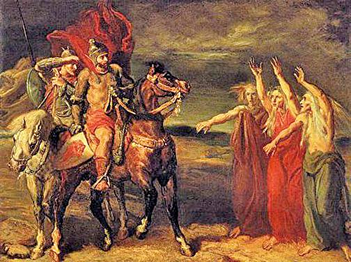 《麥克白》(Macbeth)( 維基百科公共領域)