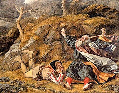 《李爾王》(King Lear)(National Galleries of Scotland; Supplied by The Public Catalogue Foundation)