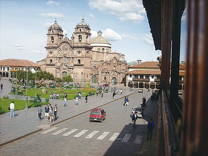 庫斯科的阿瑪斯廣場(Plaza de Armas),超過五百年來,此廣場一直是都市生活的中心。在印加帝國時期,此廣場用於進行典禮和軍事遊行,並慶祝戰鬥勝利。(Renzonapa/CC/Pixabay)