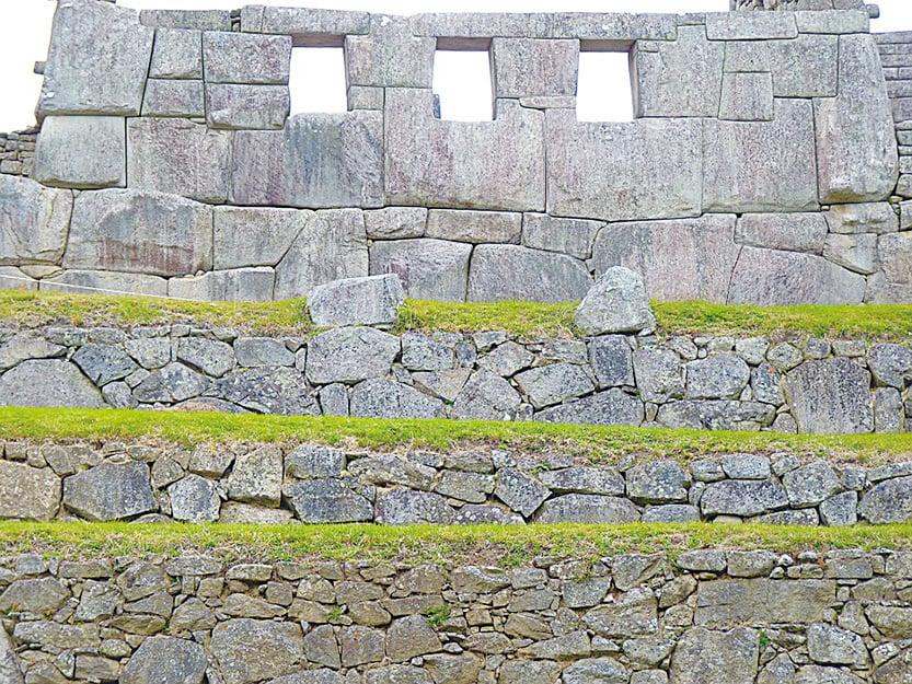 馬丘比丘三窗神廟(Temple of the Three Wndows)。(LoggaWiggler/ CC/Pixabay)